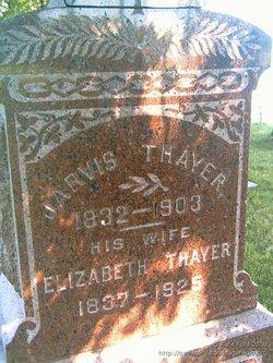 Elizabeth <I>Chambers</I> Thayer