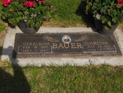 Geraldine <I>Pence</I> Bauer