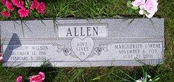 """Marguerite Lorene """"Whitie"""" <I>Dunn</I> Allen"""