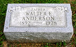 Walter Frederick Anderson, Sr