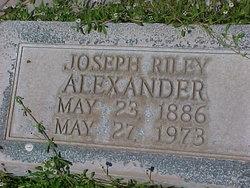 Joseph Riley Alexander