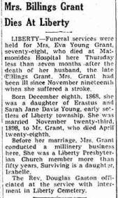 Eva <I>Young</I> Grant