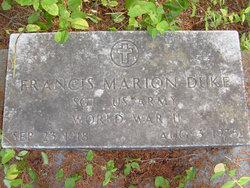Francis Marion Duke