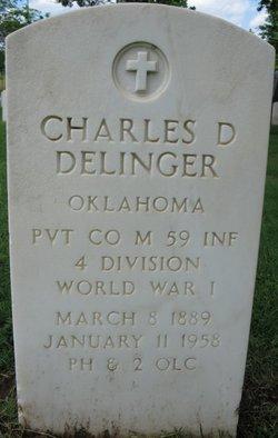 Charles D Delinger