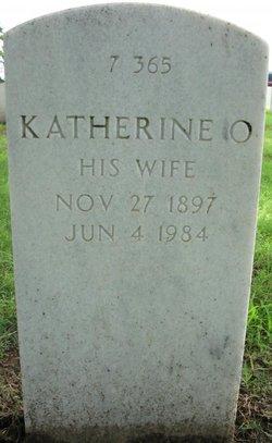 Katherine O <I>Oldham</I> Garrett