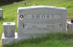 "Rose ""Rosie"" <I>Shannon</I> Short"