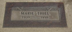Marie <I>Klettke</I> Thiel