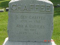 Ada Adell <I>Buttles</I> Chaffee