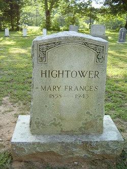 """Mary Francis """"Fannie"""" Hightower"""