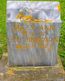 Mary Ann <I>Wachter</I> Boardman