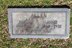 Anna Mariah <I>Watson</I> Allen