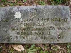 Joe William Abernathy