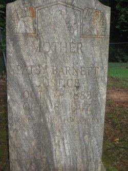 Patsy <I>Barnett</I> Justice