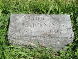 Carrie L <I>Guyon</I> Stickney