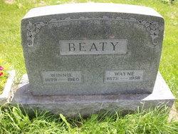 """Winifred Alice """"Winnie"""" <I>Gault</I> Beaty"""