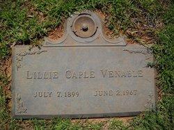 Lillie <I>Caple</I> Venable