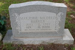 Marjorie Mildred <I>Casey</I> Barker