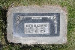 "Jemima Camilla ""Mima"" <I>Neilson</I> Graham"