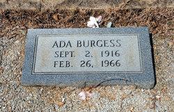 Ada Burgess