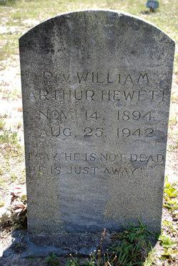 Rev William Arthur Hewett