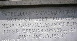 Rachel <I>Cockram</I> Wood