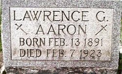 Lawrence George Aaron