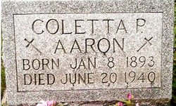 Coletta P. <I>Fasemeyer</I> Aaron
