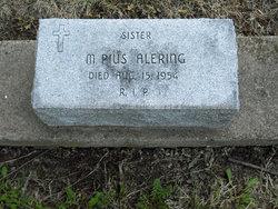 Sr M. Pius Alering