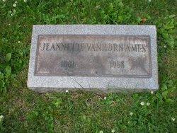 Jeannette <I>Vanhorn</I> Ames