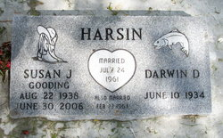 Susan Jane <I>Gooding</I> Harsin