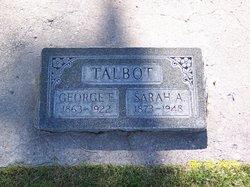 Sarah Malinda <I>Alldredge</I> Talbot