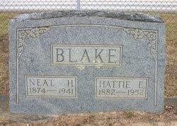 Hattie Elizabeth <I>Ingram</I> Blake