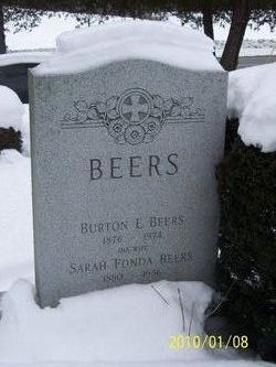 Sarah <I>Fonda</I> Beers