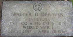 Walter D Densler