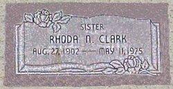 Rhoda Naomi Clark