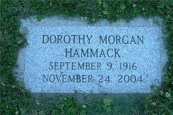 Dorothy <I>Morgan</I> Hammack
