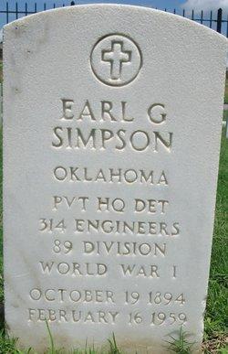 Earl G Simpson