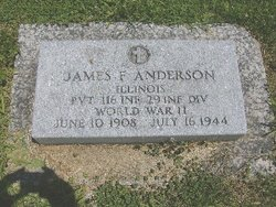 Pvt James F Anderson
