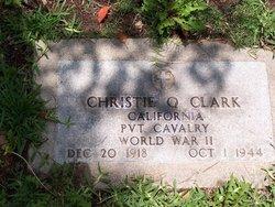 Pvt Christie Q. Clark