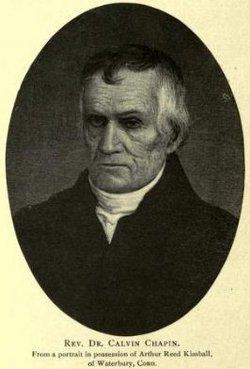 Rev Calvin Chapin