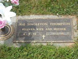 Iris Ellen <I>Singleton</I> Thompson