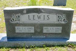 Rev John Gillard Lewis