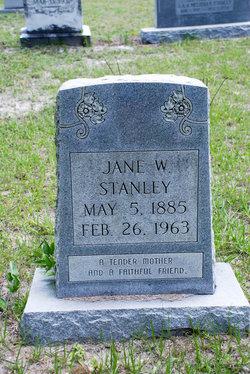 Jane Mcrae <I>White</I> Stanley