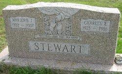 """Marjorie Ione """"Jerry"""" <I>Raigner</I> Stewart"""