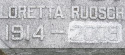 Loretta <I>Ruosch</I> Peters
