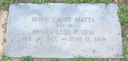 Marie Laure <I>Matta</I> Fuqua