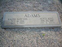 Alyce <I>King</I> Adams