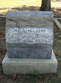 Ora A. Allgood