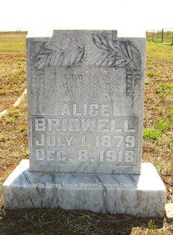Alice <I>Reneau</I> Bridwell