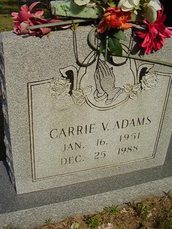 Carrie Valeria <I>Thaxton</I> Adams